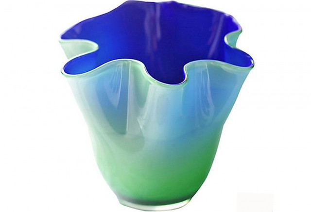 Hand Blown Glass Vases For Sale