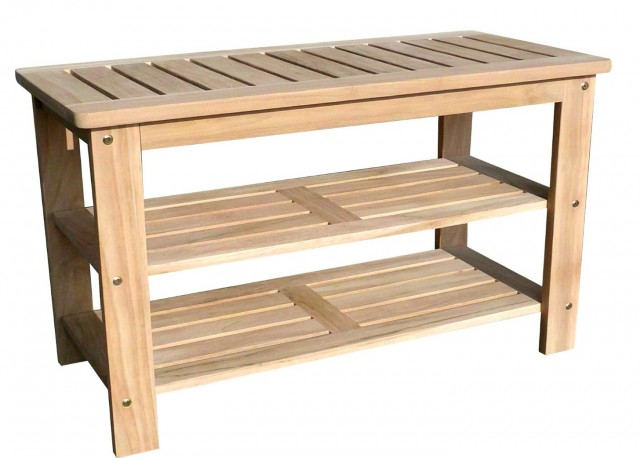 How To Build A Shoe Rack Bench