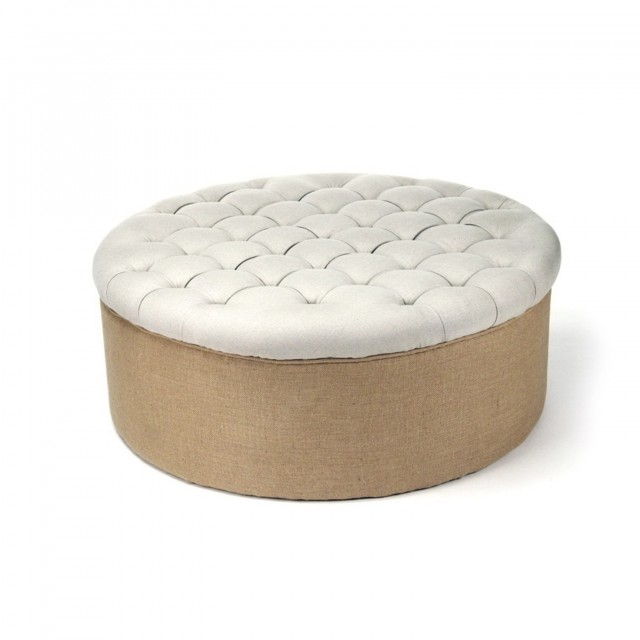How To Make A Round Tufted Ottoman