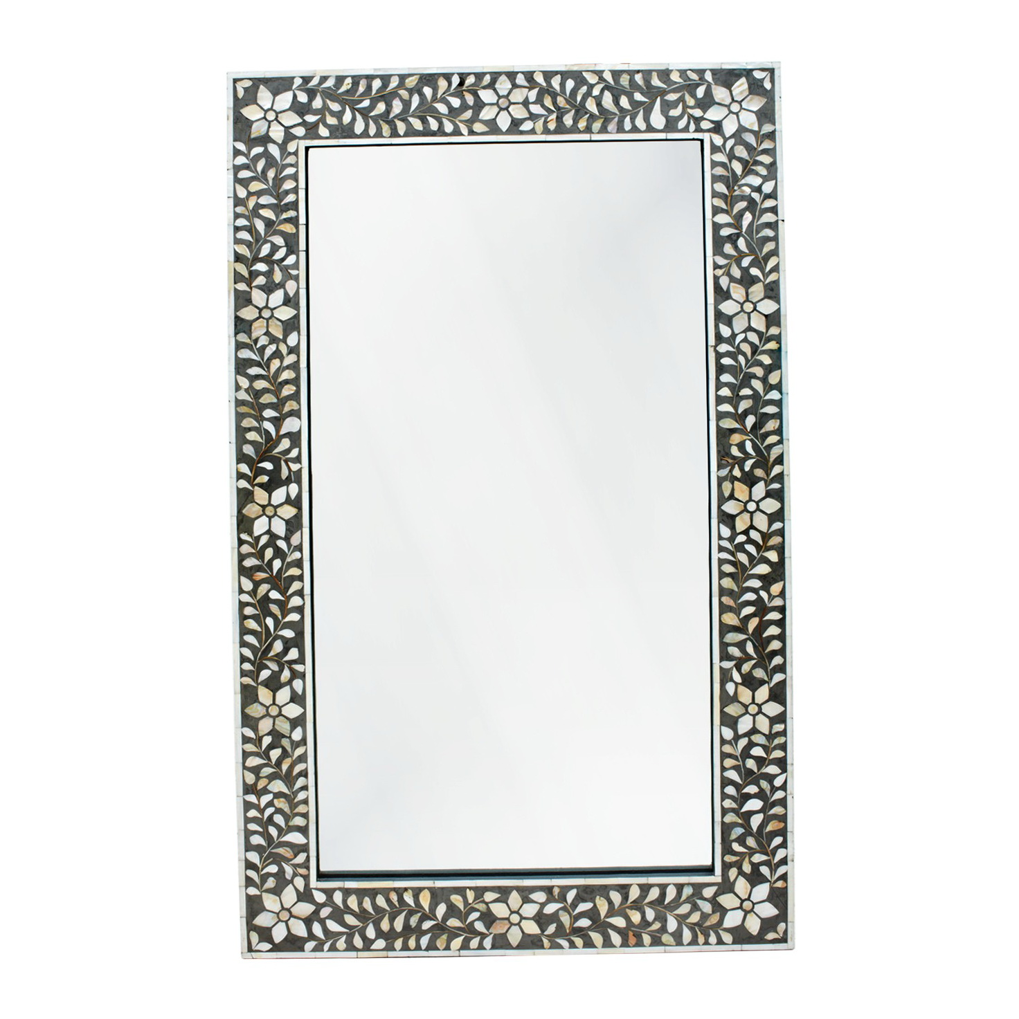 Ivory Mother Of Pearl Mirror