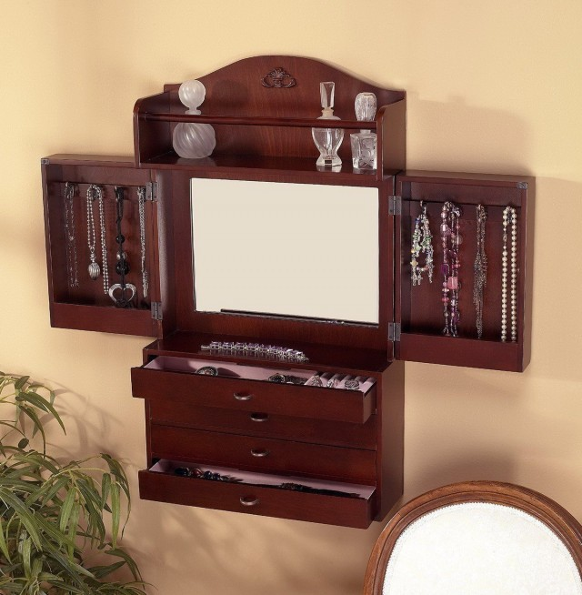 Jewelry Storage Mirror Amazon