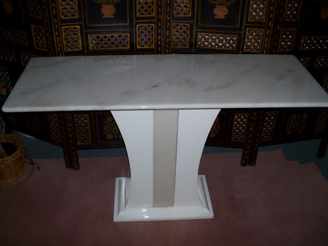 Marble Console Table Modern