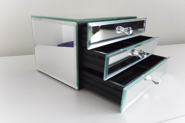 Mirror Jewelry Box Target