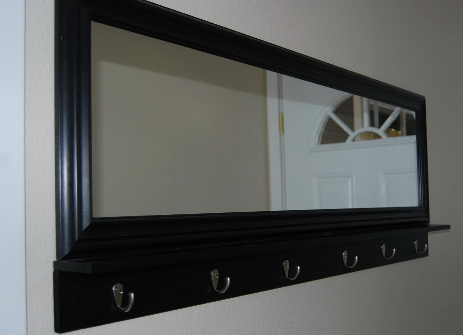 Mirror With Hooks Walmart