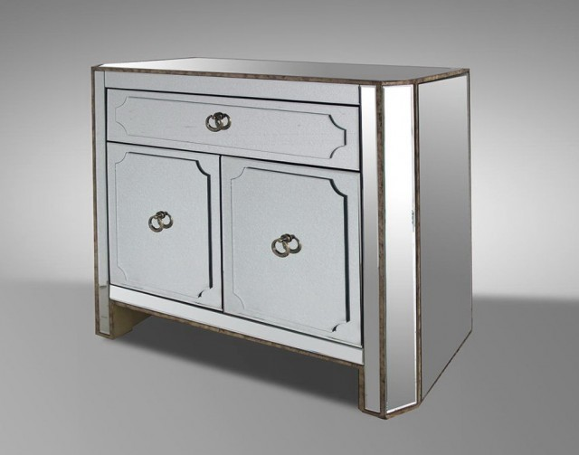 Mirrored Nightstand Sale