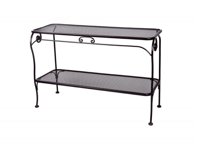 Outdoor Console Table Aluminum