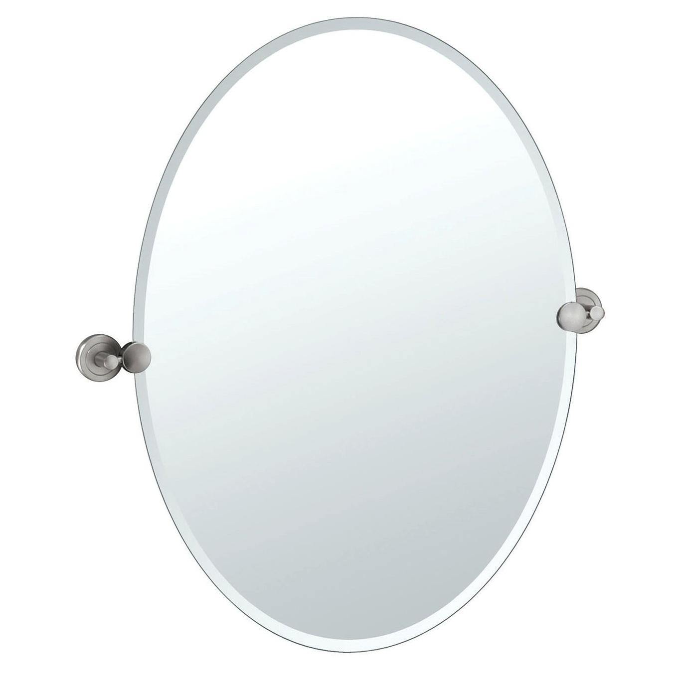 Oval Bathroom Mirrors Lowes