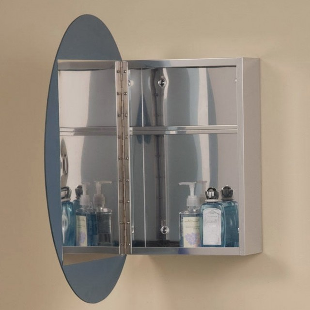 Oval Bathroom Mirrors With Medicine Cabinet