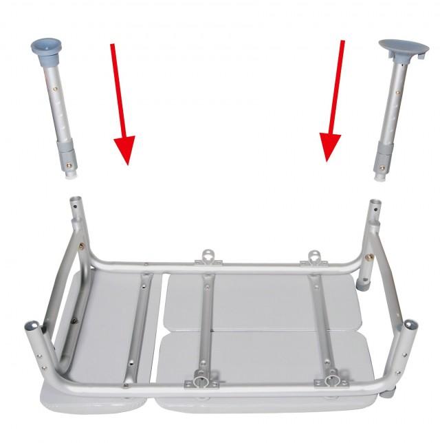 Padded Tub Transfer Bench