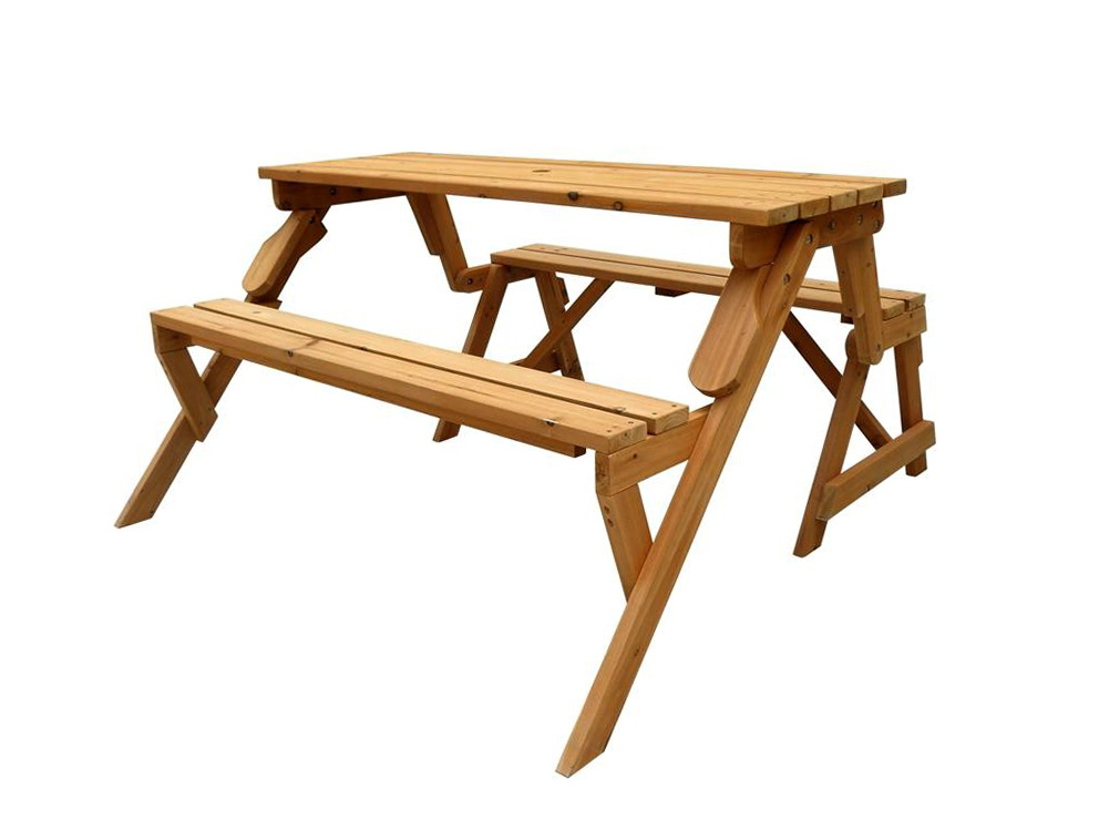 Picnic Table Bench Combo