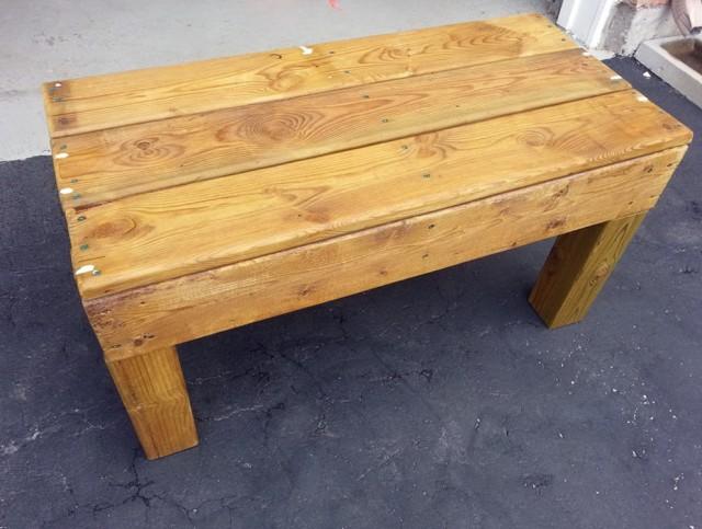 Reclaimed Wood Bench Diy
