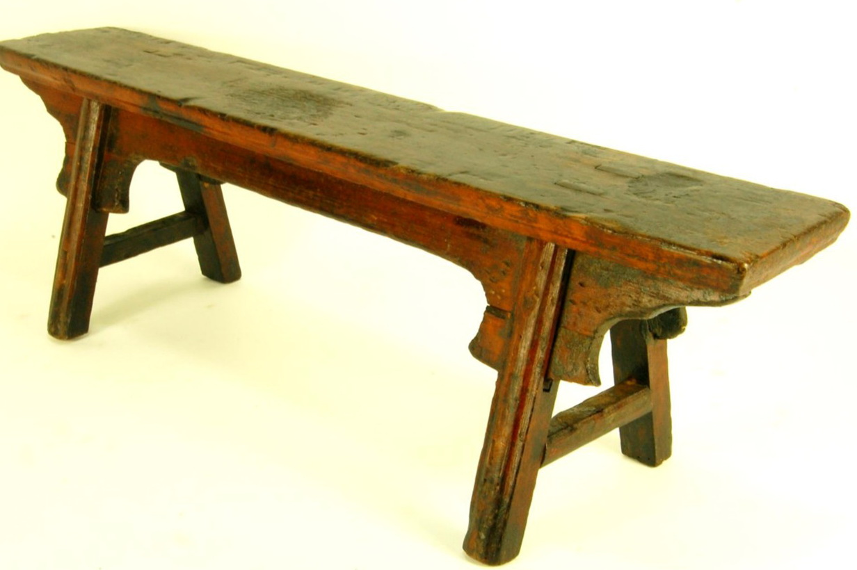 Reclaimed Wood Bench Seat