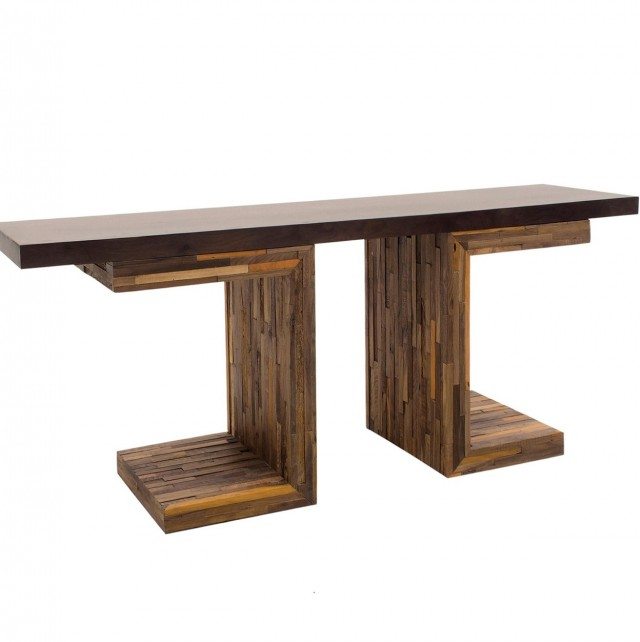 Reclaimed Wood Console Table Uk