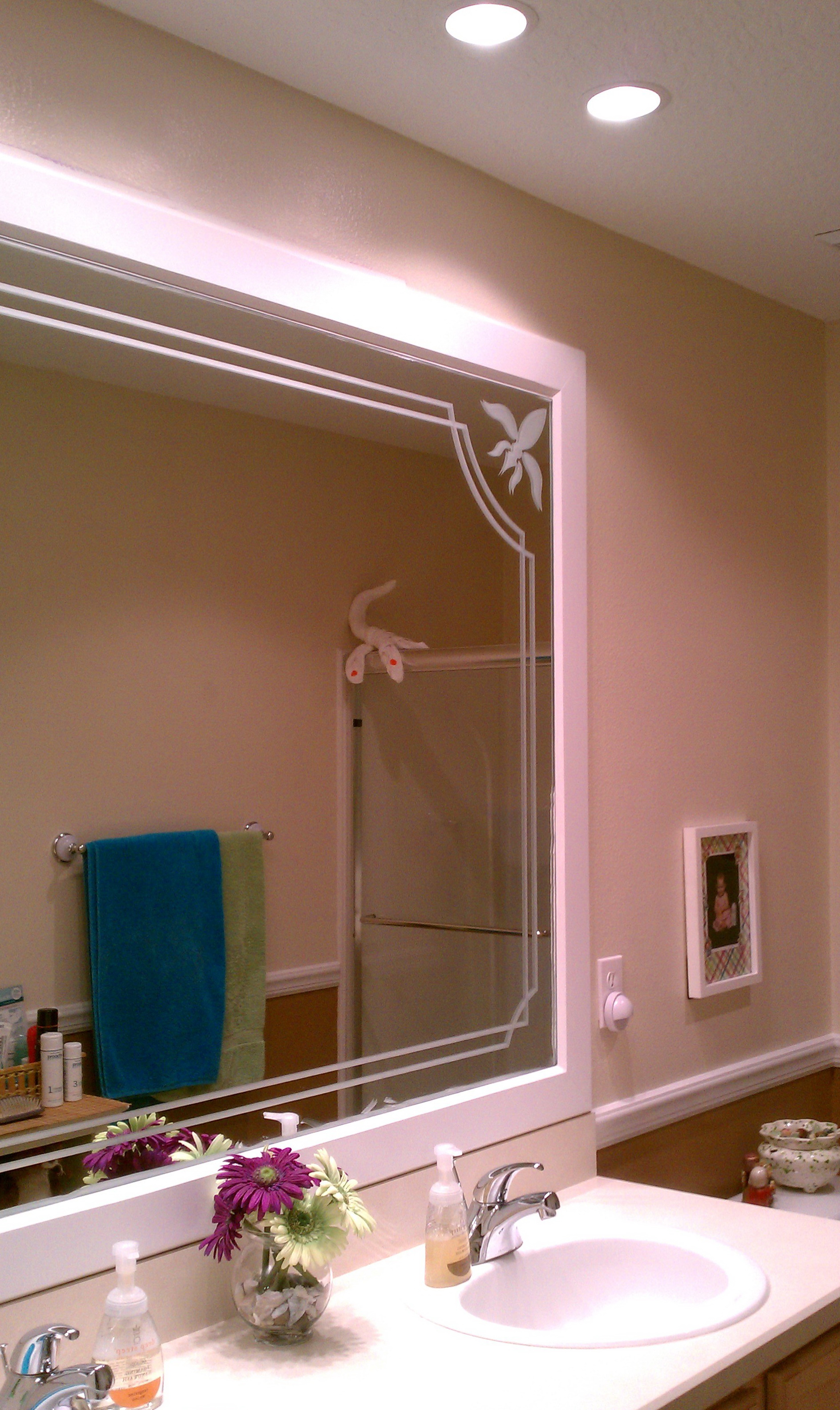 Replacement Mirror Glass Bathroom