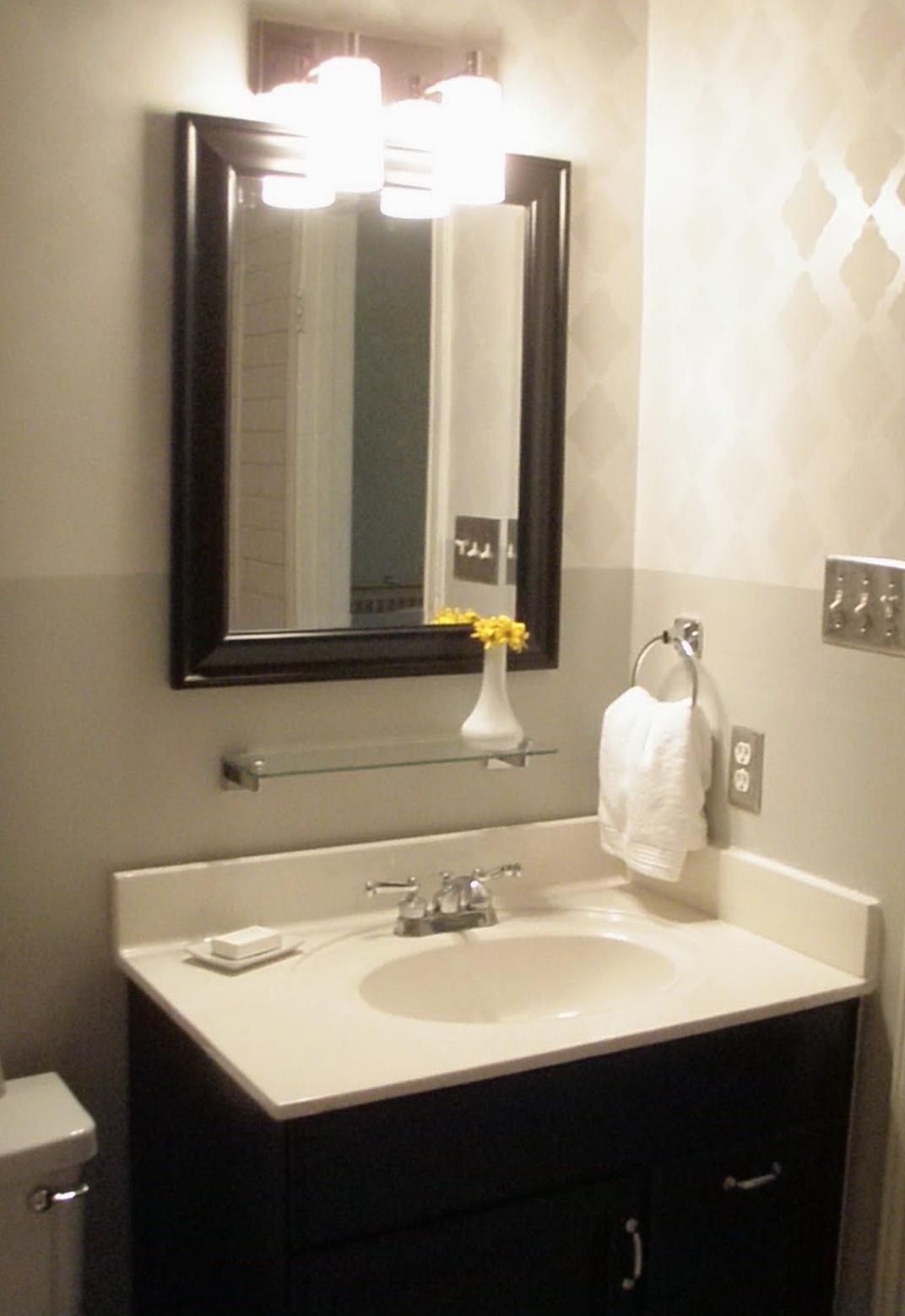 Restoration Hardware Mirrors Bathroom