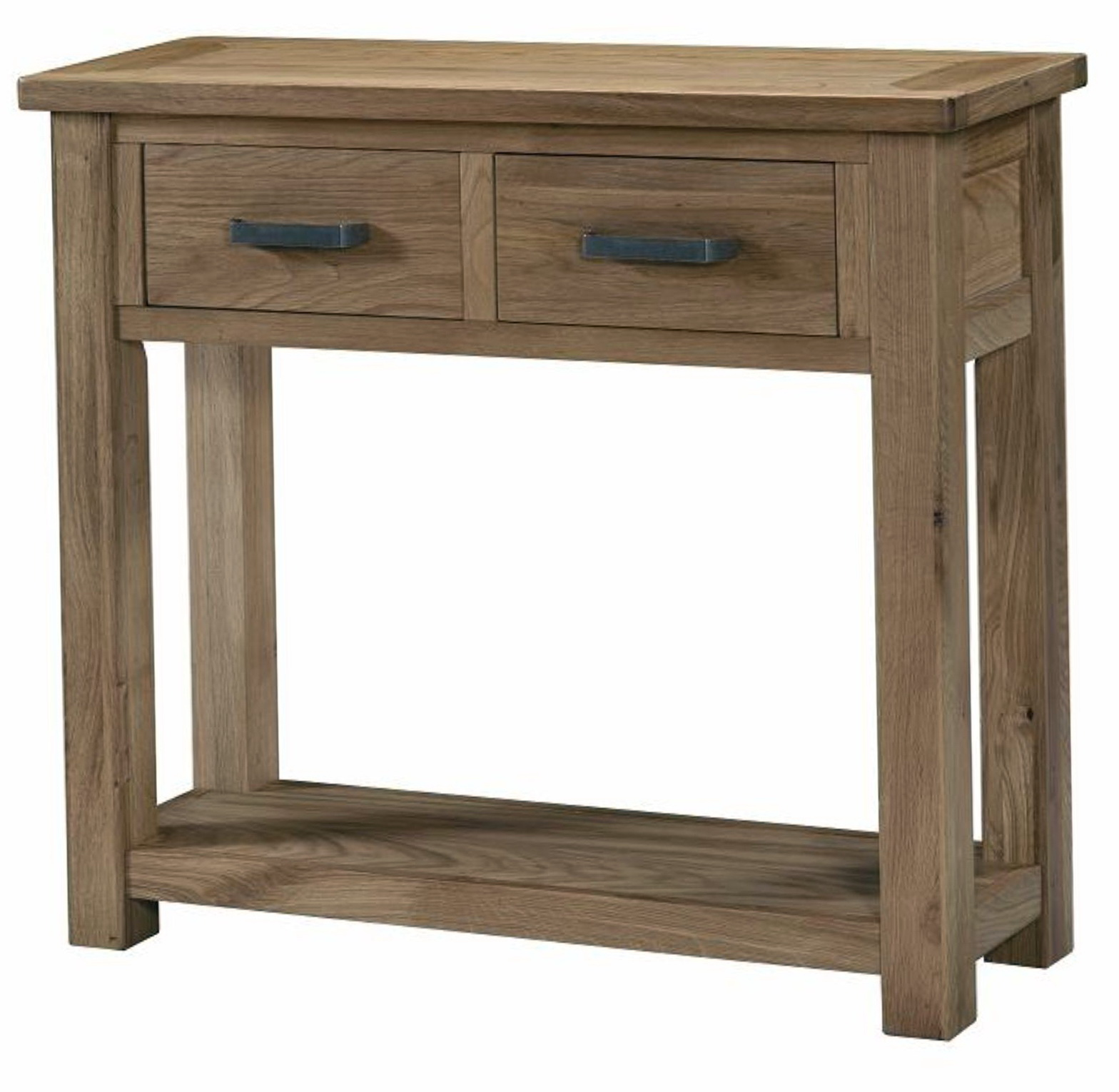 Rustic Console Table With Drawers