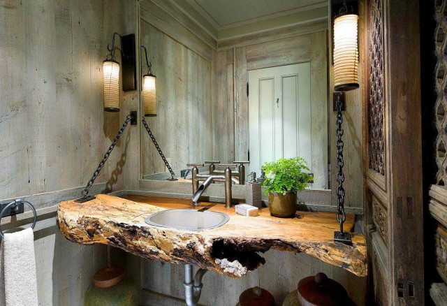 Rustic Mirrors For Bathrooms