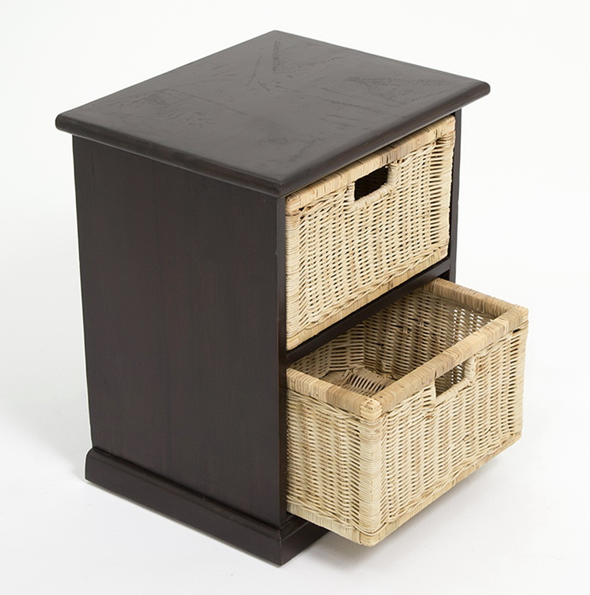 Side Tables With Storage Baskets