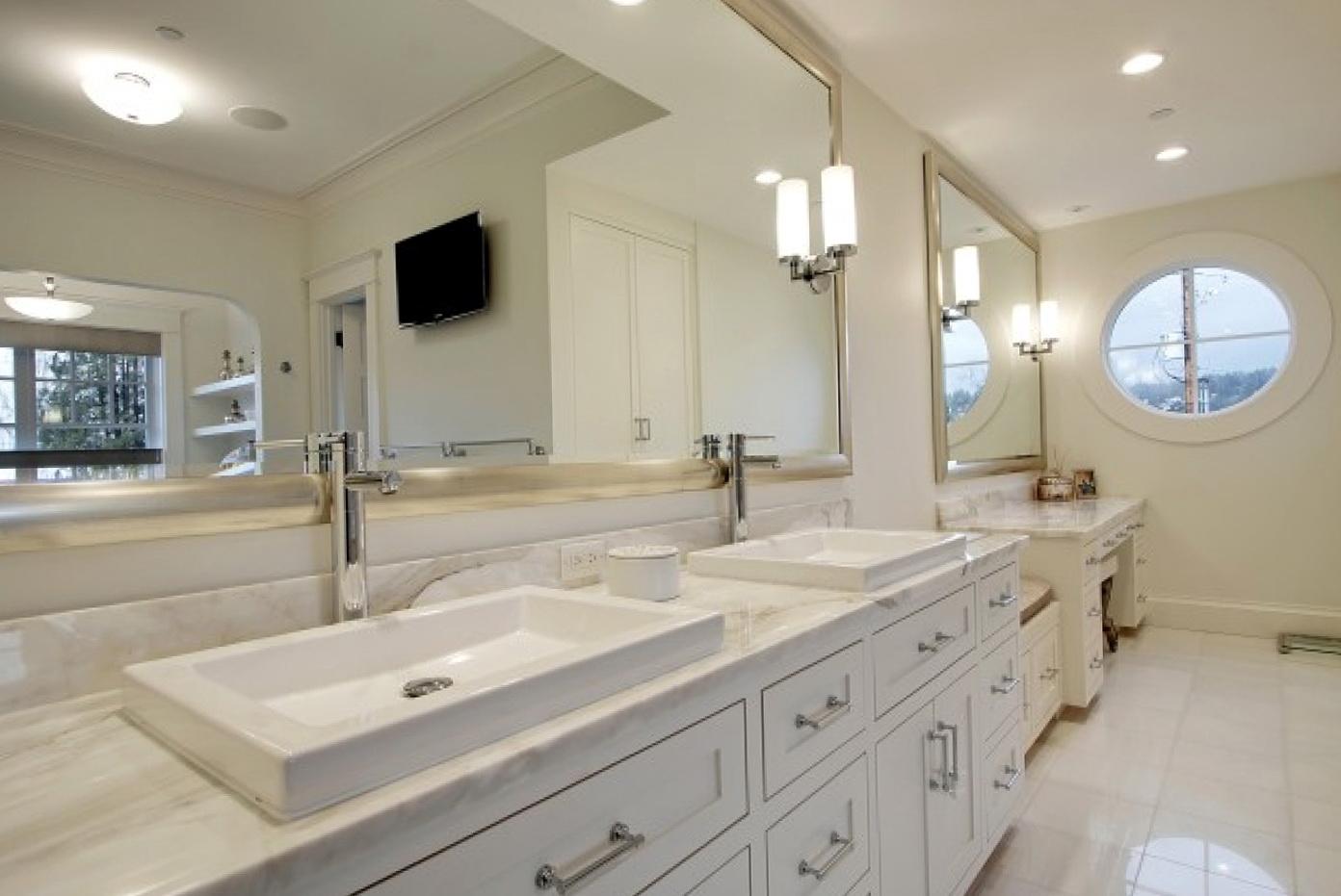 Silver Framed Bathroom Mirrors