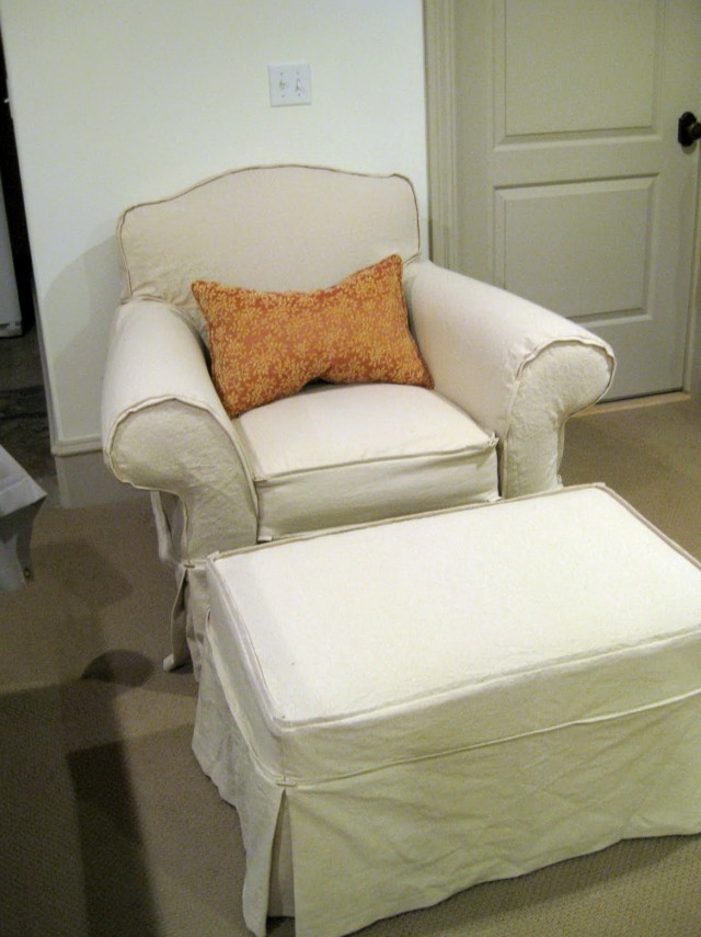 Slipcovers For Ottomans And Chairs