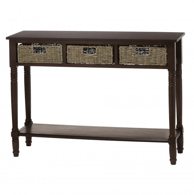 Small Console Table With Baskets