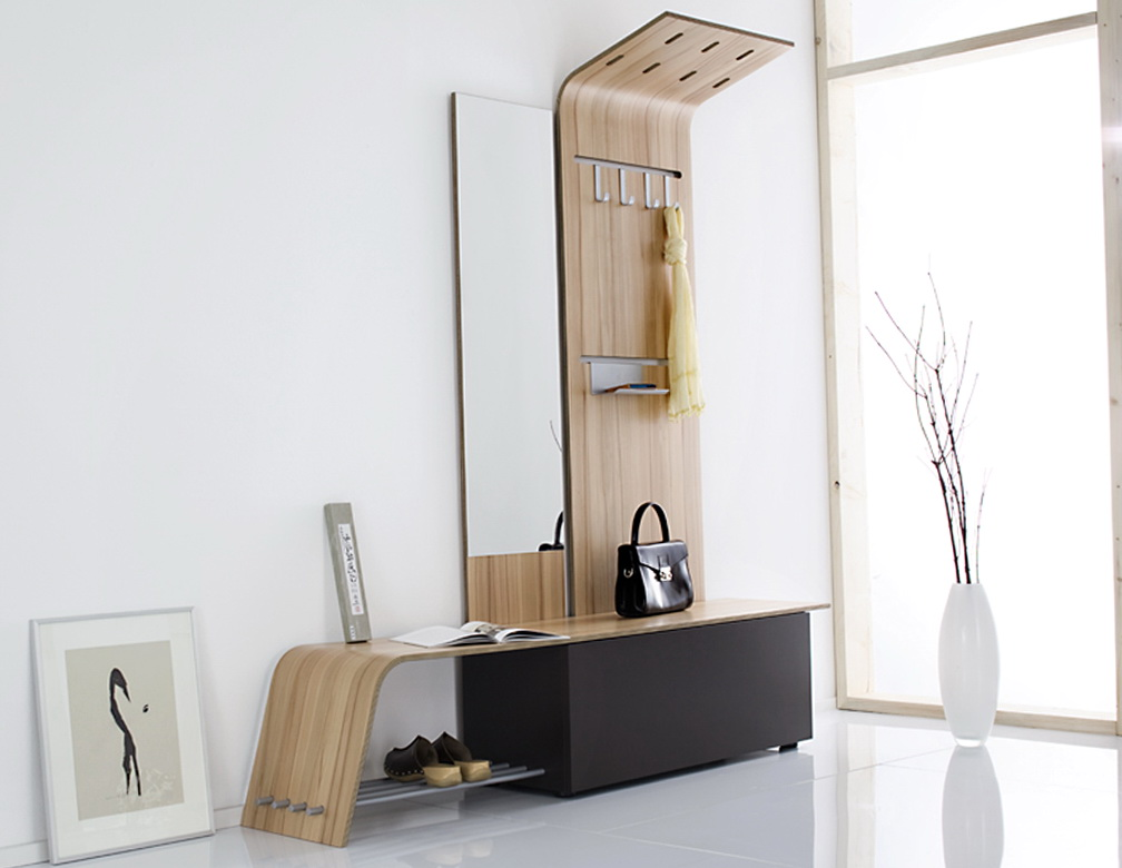 Small Entryway Storage Bench