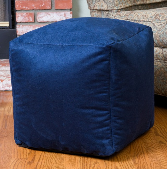 Square Bean Bag Ottoman