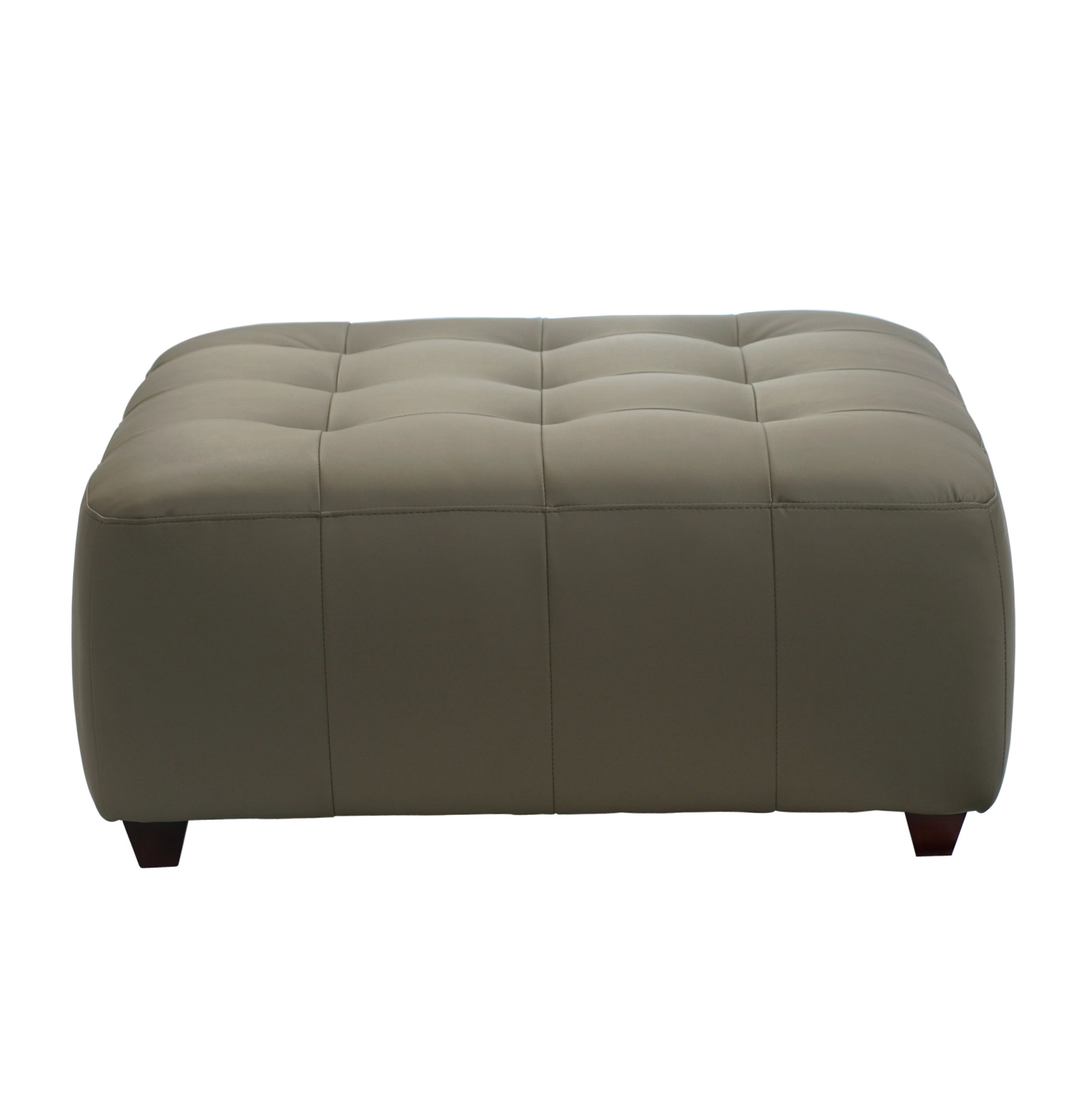 Square Tufted Cocktail Ottoman