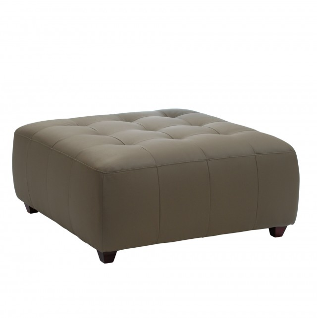 Square Tufted Storage Ottoman