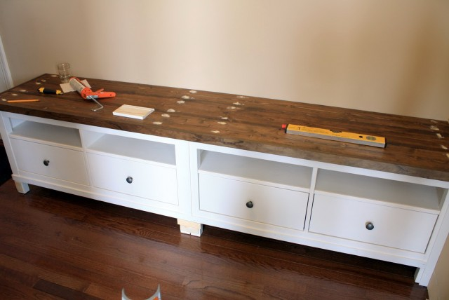 Storage Bench Ikea Hack