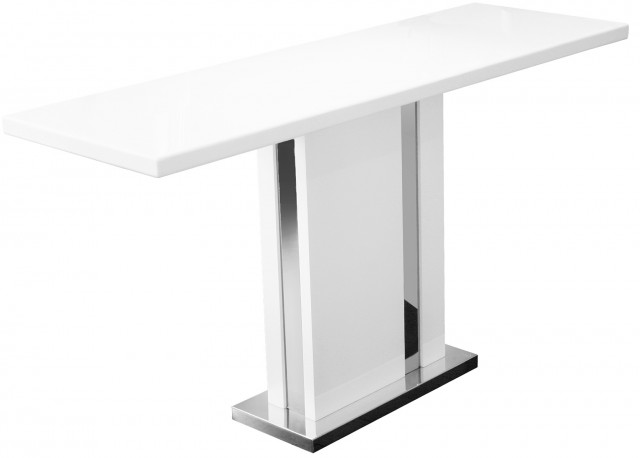 Tall Console Table White