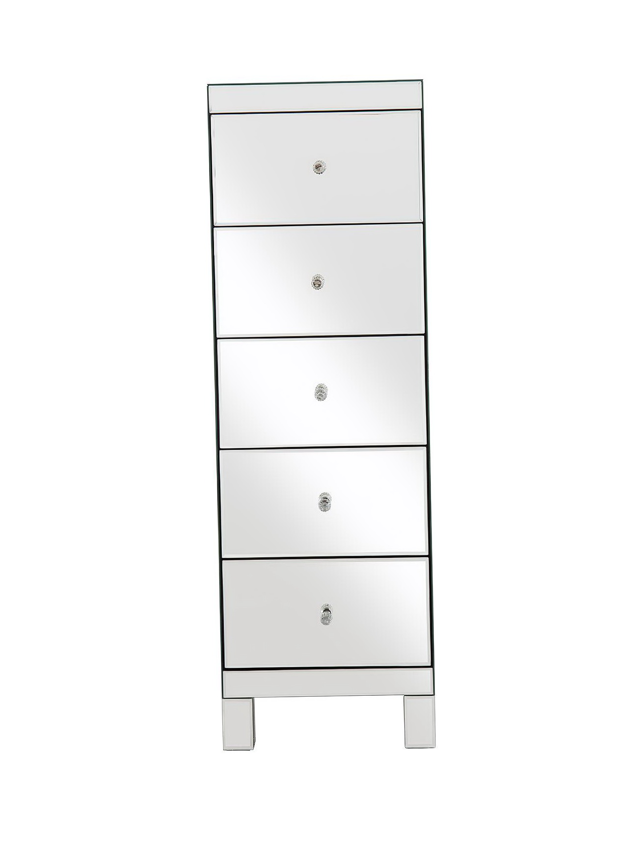 Tall Mirrored Chest Of Drawers