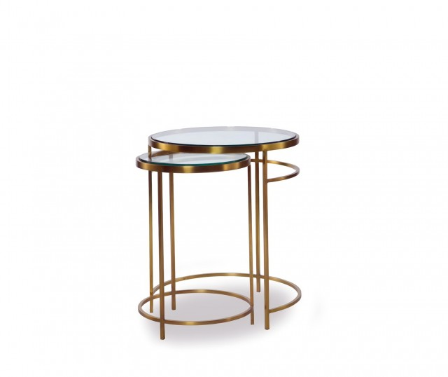 Target Brass Side Table