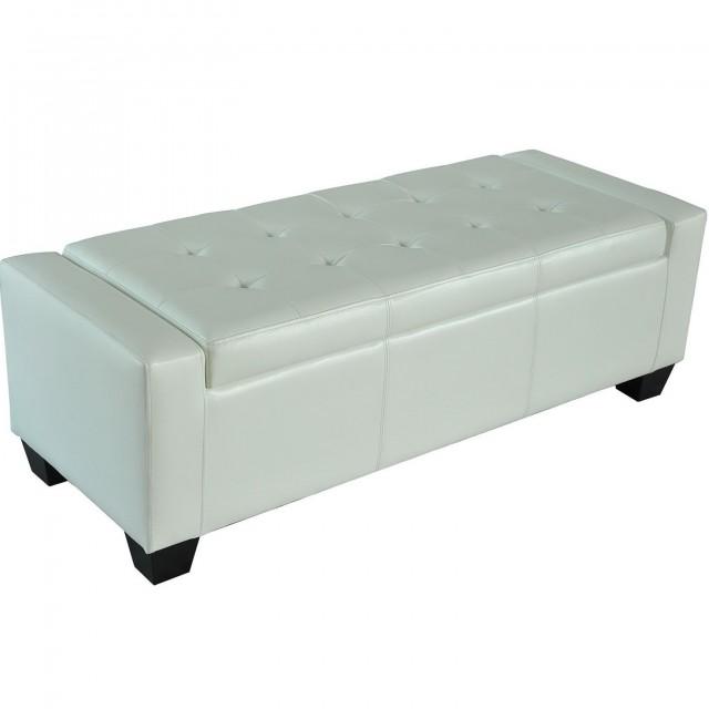 White Storage Bench Uk