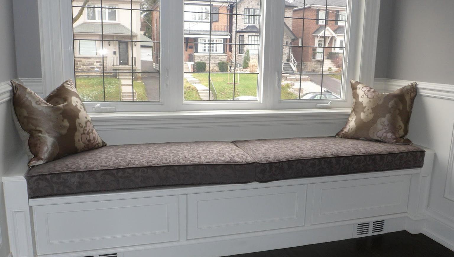 Window Bench Seat Cushions