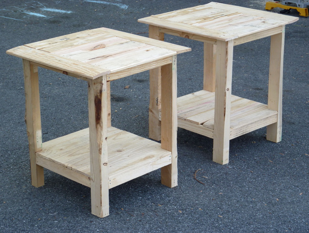 Wood Side Table Plans