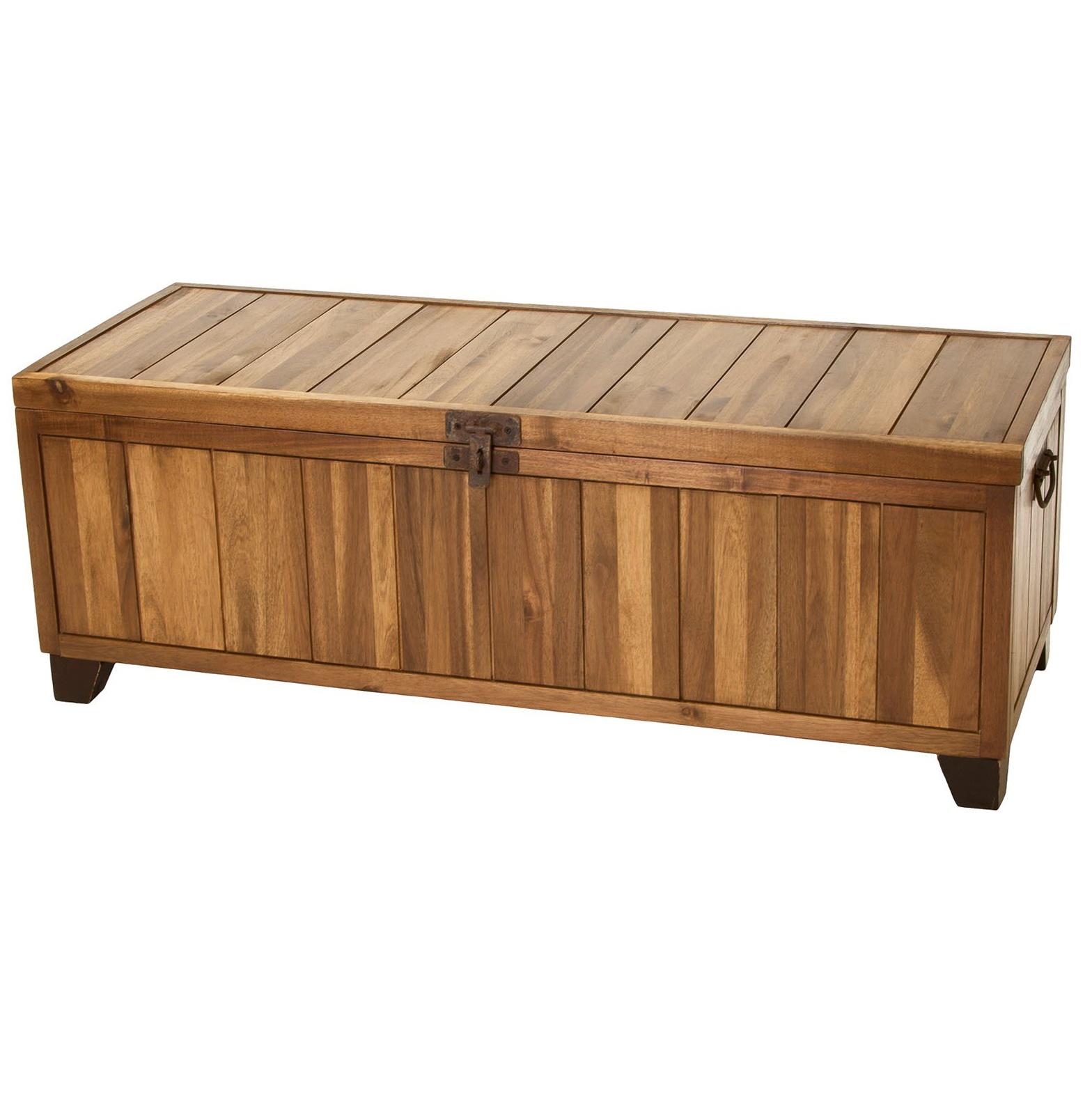 Wood Storage Bench Designs