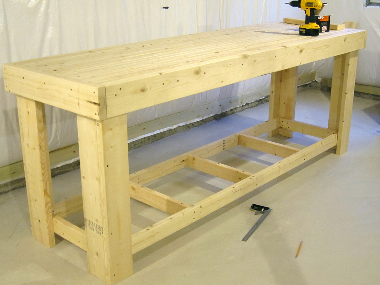 Wooden Work Bench Plans