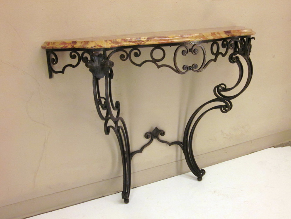 Wrought Iron Console Table Uk