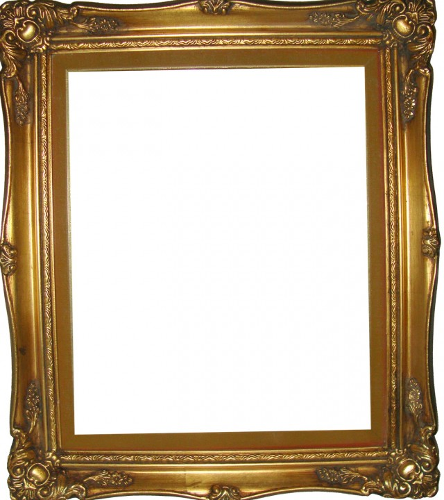Antique Mirrored Picture Frames