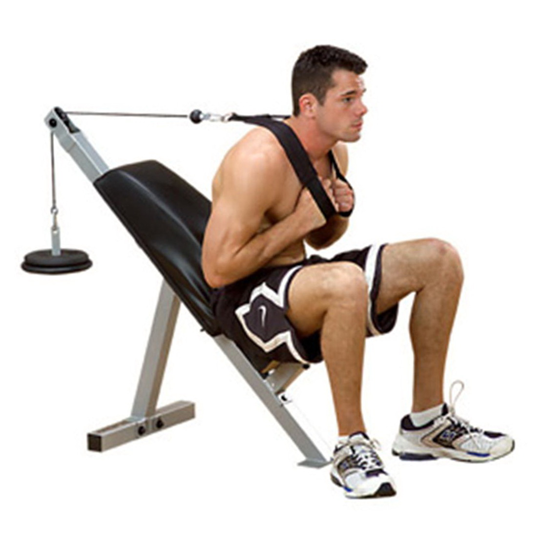 Back Extension Bench Obliques