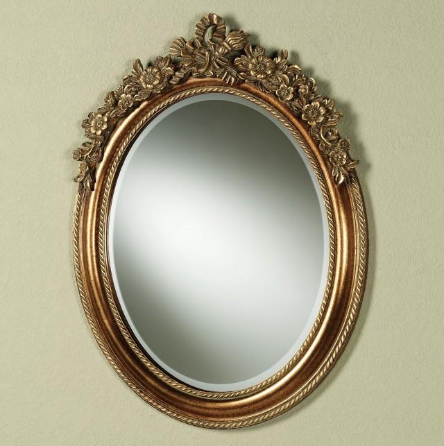 Baroque Oval Wall Mirror