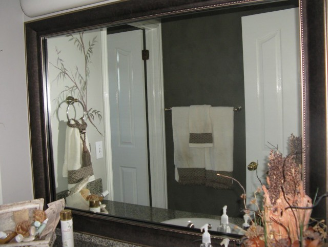 Bathroom Mirror Frame Kit