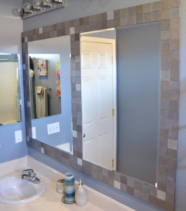 Bathroom Mirror Frame Tile