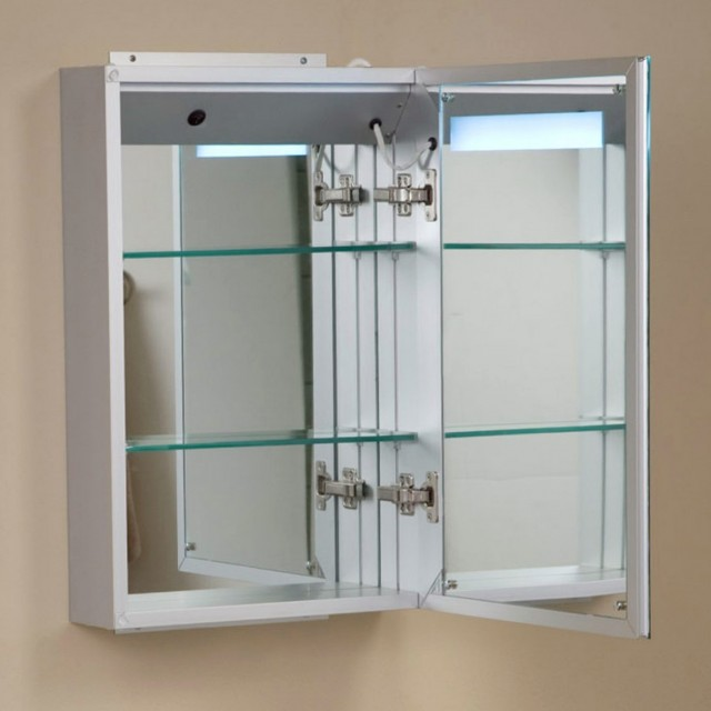 Bathroom Mirror With Lights And Shelf