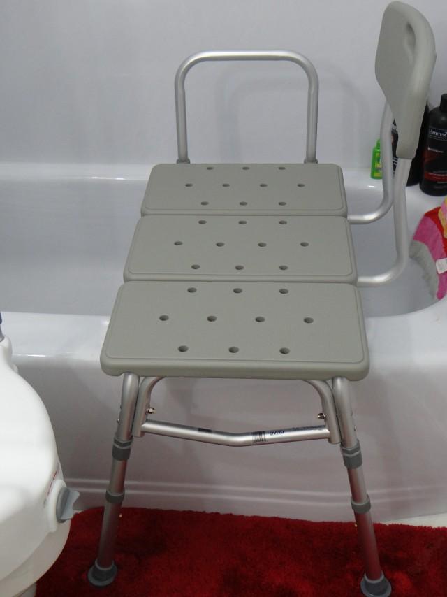 Bathtub Transfer Bench Shower Curtain