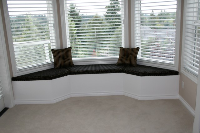 Bay Window Bench Seat Plans