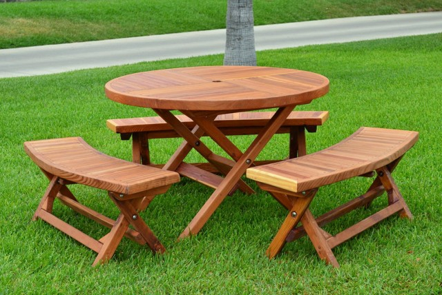 Bench To Picnic Table Plans Free