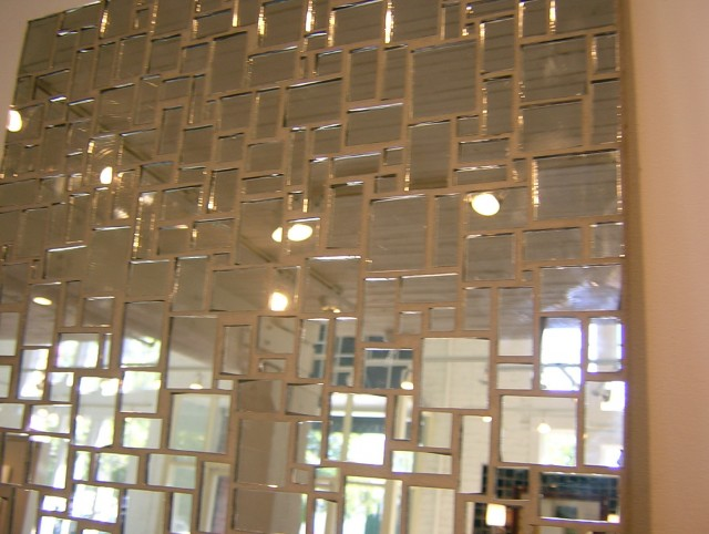 Beveled Mirror Tiles Crafts
