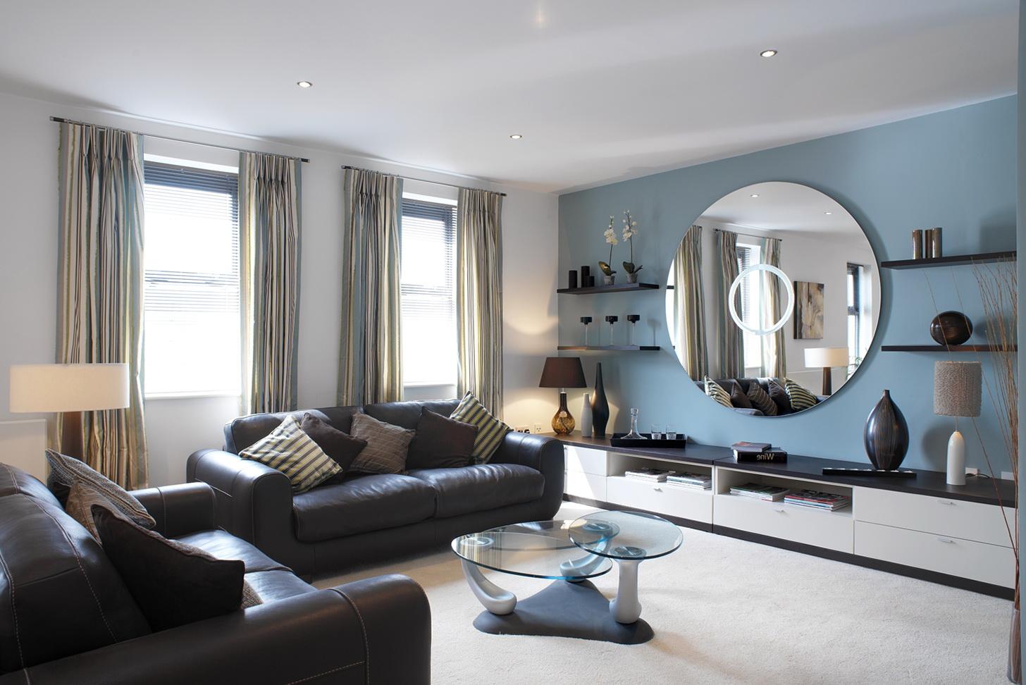 Big Living Room Mirrors
